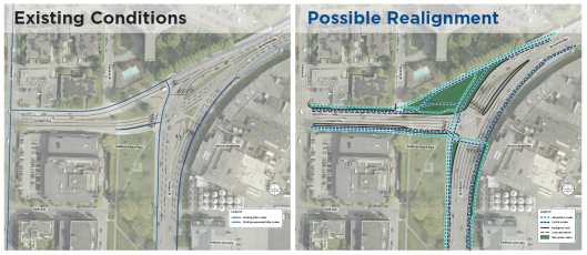 Burrard Intersection Realignment