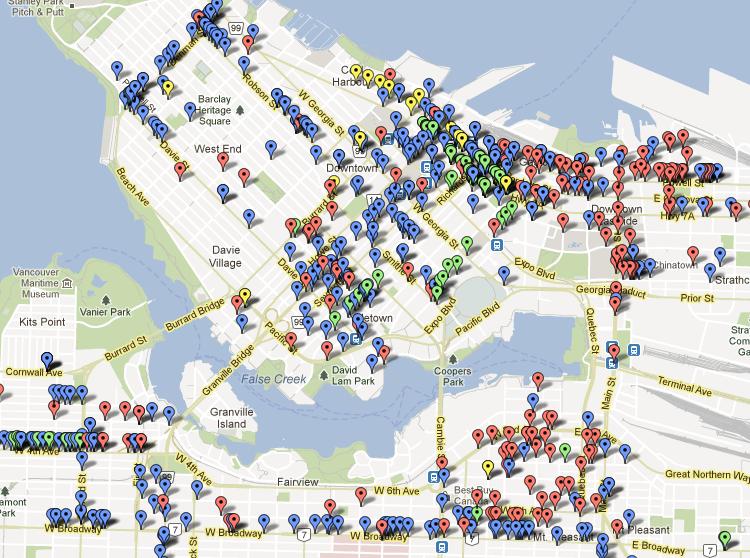 Data Nerd: Mapping Vancouver's Bike Racks (2/2)