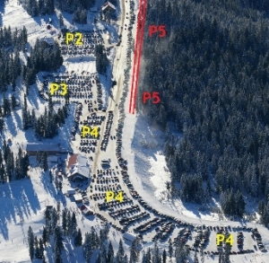 Mount Seymour Winter Parking