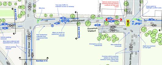 Adanac Bikeway Improvements Snapshot