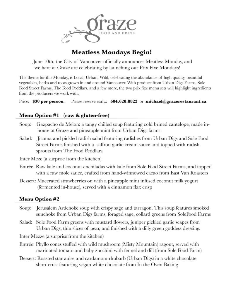 Graze Restaurant Review (4/5)