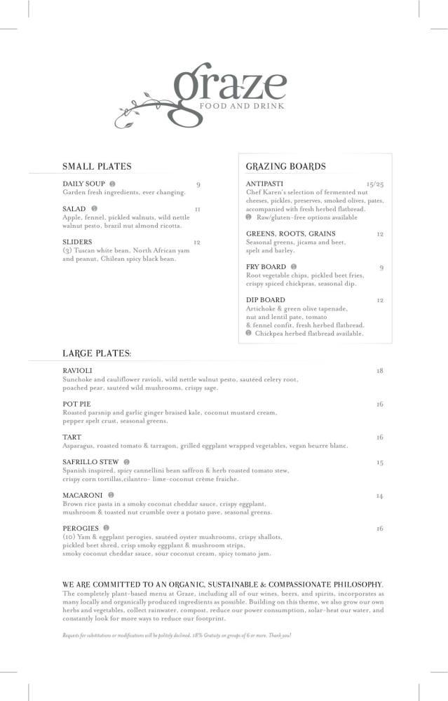 Graze Restaurant Review (3/5)