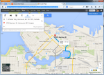 Directions to Work via Google
