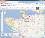 Vancouver's Popular Bike Routes Heatmap