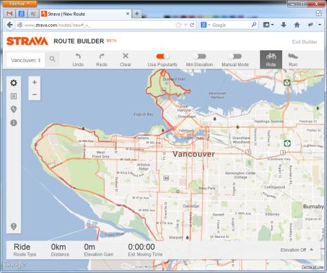 StravaVancouverCyclingHeatmap