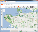 Vancouver's Official Bike Network