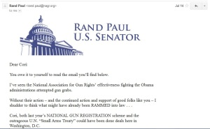 Rand Paul Email 1