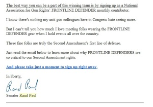 Rand Paul Email 2