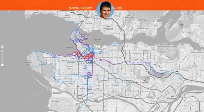 Where I Run – a Strava Heatmap