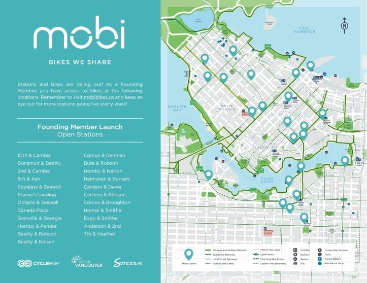 Mobi founding member launch map